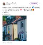 Οι Σκωτσέζοι δεν... γουστάρουν τους Άγγλους ούτε στο Μουντιάλ!