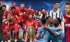 Ποιος θα πάρει το Champions League; Οι αποδόσεις λίγο πριν τη σέντρα!