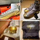 Ο Ρονάλντο έβγαλε ήδη συλλεκτικά παπούτσια για την 5η Χρυσή Μπάλα πριν ανακοινωθεί το αποτέλεσμα