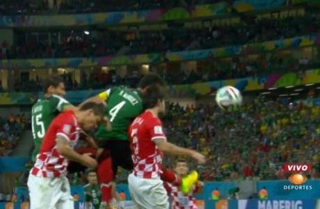 Το γκολ του Μεξικού επί της Κροατίας