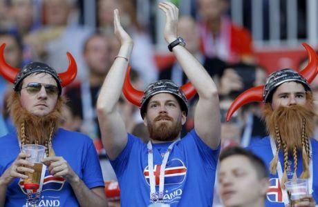 ΑΠΙΣΤΕΥΤΟ: Όλη η Ισλανδία είδε τον αγώνα με την Αργεντινή!