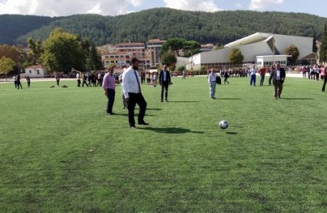 Ο Βασιλειάδης έκανε τη σέντρα σε νέο γήπεδο στα Γιάννινα
