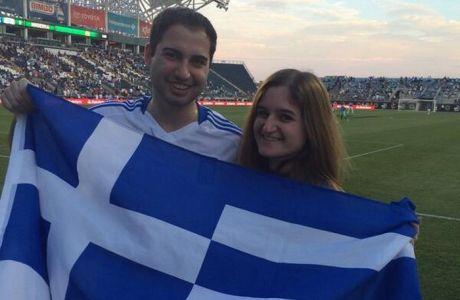 Οι Έλληνες ομογενείς στήριξαν την Εθνική
