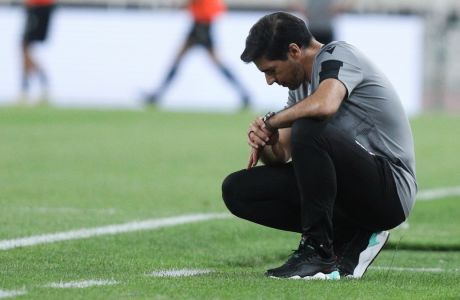 Ο Αμπέλ Φερέιρα έχει καταλήξει στους δέκα από τους έντεκα παίκτες που θα χρησιμοποιήσει στην Τούμπα απέναντι στην Μπενφίακ για τον 3ο προκριματικό γύρο του Champions League και αμφιταλαντεύεται για την δεξιά πλευρά. (EUROKINISSI)