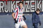Ο Μάριος Βρουσάι της Βίλεμ σε αγώνα με την Μπρέντα για την Eredivisie 2018-2019, Κυριακή 20 Ιανουαρίου 2019