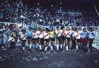 Ο γύρος του θριάμβου για τους παίκτες της Ρίβερ μετά την κατάκτηση του Copa Libertadores το 1986.