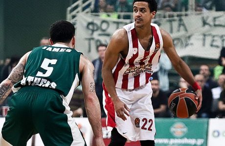 02/03/2018 Panathinaikos Vs Olympiacos for Turkish Airlines Euroleague season 2017-18, in OAKA Stadium in Athens - Greece  Photo by: Andreas Papakonstantinou / Tourette Photography