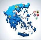 Ο χάρτης της νέας Super League και τα χιλιόμετρα των 14 ομάδων