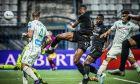Ο Τσούμπα Άκπομ του ΠΑΟΚ σε στιγμιότυπο της αναμέτρησης με τον Παναθηναϊκό σε φιλικό προετοιμασίας για τη σεζόν 2020-2021 στο 'Γρηγόρης Λαμπράκης' | Σάββατο 5 Σεπτεμβρίου 2020