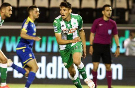Ο Τάσος Χατζηγιοβάνης σκόραρε δύο φορές στον αγώνα με τον Αστέρα Τρίπολης, αλλά ο Παναθηναϊκός δεν πήρε μια νίκη που είχε τόσο ανάγκη, μένοντας στο 2-2