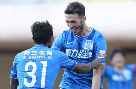 Γκολ ο Γιάννου με την Guangzhou