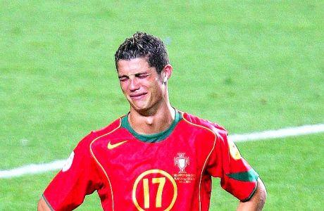 Ο Ρονάλντο πάντα συνήθιζε να κλαίει!