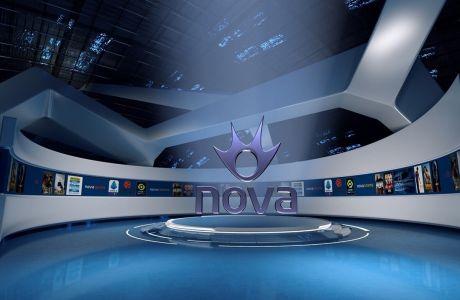 Όλο το ελληνικό πρωτάθλημα ποδοσφαίρου αποκλειστικά στα κανάλια Novasports!