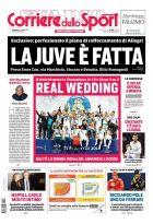 """Το κορυφαίο πρωτοσέλιδο για το Ρεάλ-Λίβερπουλ ανήκει στην """"Corriere dello Sport""""!"""