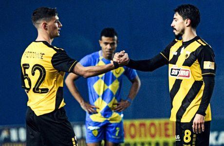Ο 19χρονος Ευθύμης Χριστόπουλος χρησιμοποιήθηκε από τον Μάσιμο Καρέρα στο 1-1 με τον Παναιτωλικό