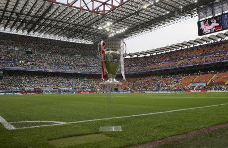 Σχέδια ακόμη και για την διεξαγωγή του τελικού του Champions League στη Νέα Υόρκη κάνει η UEFA, από το 2024 και μετά. ⓒ 2021 Luca Bruno/Associated Press