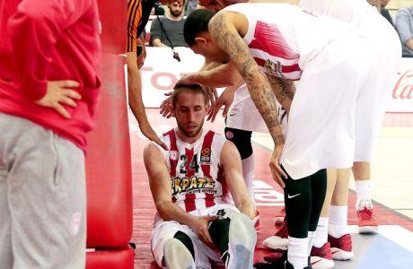 ÅÕÑÙËÉÃÊÁ / ÏÓÖÐ - ÑÅÁË ÌÁÄÑÉÔÇÓ / EUROLEAGUE / OLYMPIAKOS - REAL MADRID (ÂÁÓÉËÇÓ ÌÁÑÏÕÊÁÓ / Eurokinissi Sports)