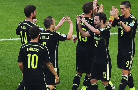 Αυστραλία - Ισπανία 0-3 (VIDEO)