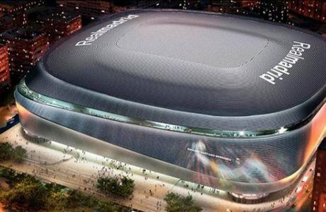 Το νέο 'Santiago Bernabéu' θα εξαφανίζει το χορτάρι για συναυλίες και... μπάσκετ