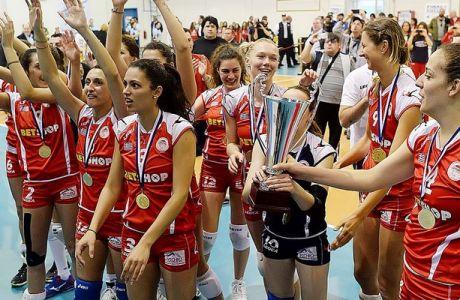 """Η """"χρυσή Βίβλος"""" του Κυπέλλου Ελλάδας στο βόλεϊ γυναικών"""