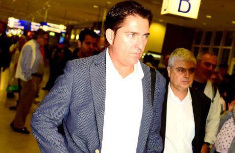 """Στην Αθήνα ο Πασκουάλ: """"Αγαπώ τον Παναθηναϊκό"""""""
