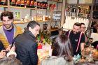 Σπανούλης, Πρίντεζης, Σφαιρόπουλος στο καφέ του Μάντζαρη