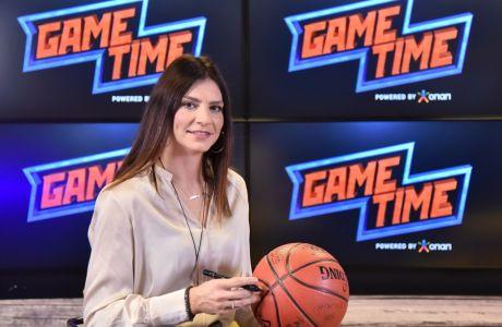 Η Εβίνα Μάλτση στο ΟΠΑΠ Game Time ΜΠΑΣΚΕΤ
