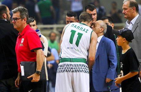 01/06/2017 Panathinaikos Vs Olympiacos for Basket League play offs season 2016-17, in OAKA Stadium, in Athens - Greece  Photo by: Georgia Panagopoulou / Tourette Photography