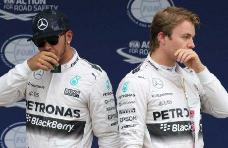 """Ποινή """"χάδι"""" για τον Rosberg"""