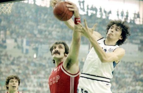 H μπάλα του τελικού του 1987 στο Game Changer in Sports