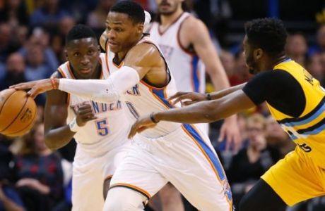 """""""Όργια"""" από Westbrook και νίκη για Θάντερ"""