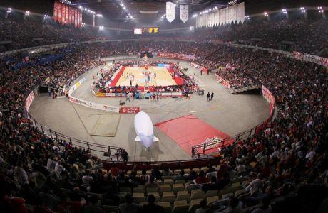 ÅÕÑÙËÉÃÊÁ / ÐËÅÉ ÏÖ / ÏÓÖÐ - ÁÍÁÍÔÏËÏÕ ÅÖÅÓ / EUROLEAGUE / PLAY OFF / OLYMPIAKOS - ANADOLU EFES (ÔÁÊÇÓ ÓÁÃÉÁÓ / Eurokinissi Sports)