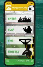 Το app που θα σου επιτρέπει να ενημερώνεις τους παίκτες πώς αισθάνεσαι σε κάθε φάση, από τον καναπέ του σπιτιού σου είναι έτοιμο.