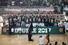 12/06/2017 Panathinaikos celebrates the 35th championship in Basket League season 2016-17, in OAKA Stadium, in Athens - Greece  Photo by: Andreas Papakonstantinou / Tourette Photography