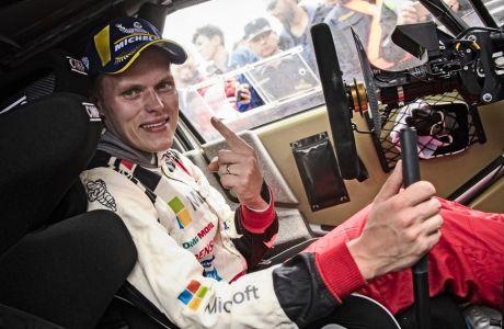 O Oτ Τάνακ έγινε ο πρώτος, μη Γάλλος, πρωταθλητής του WRC, μετά το 2003.