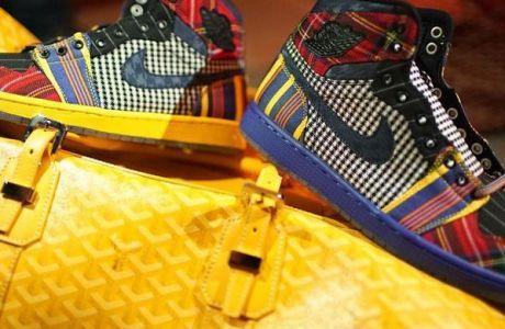 """Συλλεκτικά παπούτσια """"Air Jordan"""" για τον Κρεγκ Σάγκερ"""