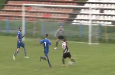 Γυναίκα διαιτητής σφύριξε τη λήξη τη στιγμή που έμπαινε γκολ! (VIDEO)