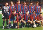 """Ο τελικός του καταλανικού Κυπέλλου της σεζόν 2002/03 στην κατηγορία Α' Εφήβων, το περίφημο """"παιχνίδι της μάσκας"""", στο οποίο ο Μέσι φόρεσε τη μάσκα του Πουγιόλ."""