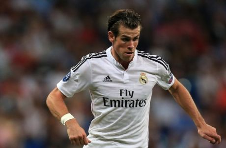 Gareth Bale will be missing when Real Madrid take on Liverpool on Wednesday night