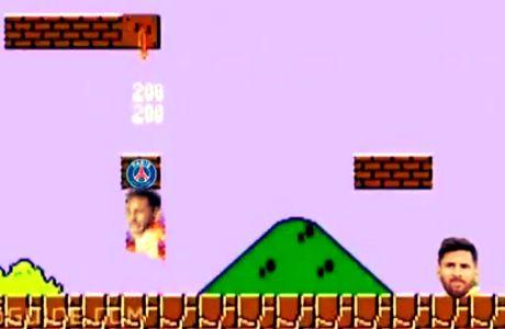 Ο Νεϊμαρ πήρε όλα τα coins του Super Mario!
