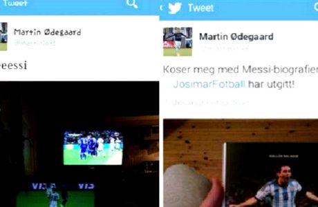 Eσβησε τα tweet για τον Μέσι ο Εντεγκάαρντ