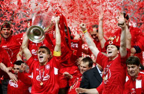 Η Λίβερπουλ πρωταθλήτρια Ευρώπης το 2005