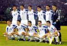 """Η ενδεκάδα της Ελλάδας στο ματς με την Ισπανία στη """"Λεωφόρο"""" για τα προκριματικά του EURO 2004."""