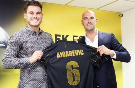 Επίσημo: Στην ΑΕΚ ο Αϊντάρεβιτς