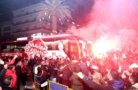 """""""Κάηκε"""" η Σπάρτη στην άφιξη του Ολυμπιακού"""