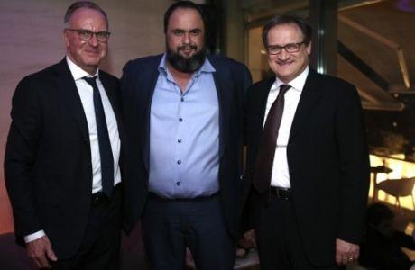 Ο Μαρινάκης, ο Ρουμενίγκε και ο Ανιέλι