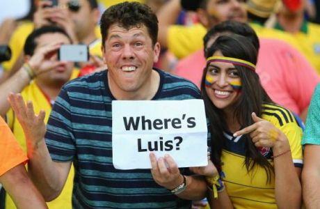 Χαμός στο γήπεδο με Σουάρες (PHOTOS)
