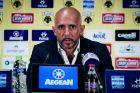 Ο Μιγκέλ Καρντόσο ως προπονητής της ΑΕΚ στην αναμέτρηση της κόντρα στην Ξάνθη.
