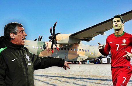Με στρατιωτικό αεροπλάνο στην Ανδόρα η Πορτογαλία!
