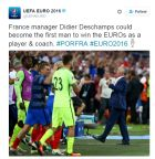 H γκάφα της UEFA με τον Ντεσάμπ